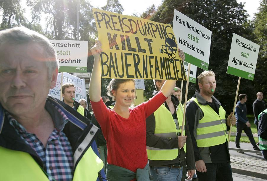 Tönnies unterstützt Demonstration des WLV