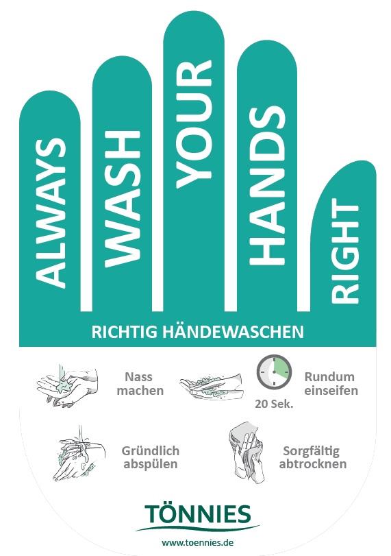 Informationskampagne zur Hygieneetikette