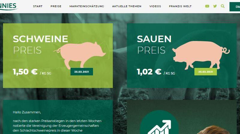 Tönnies Agrarblog in neuem Design