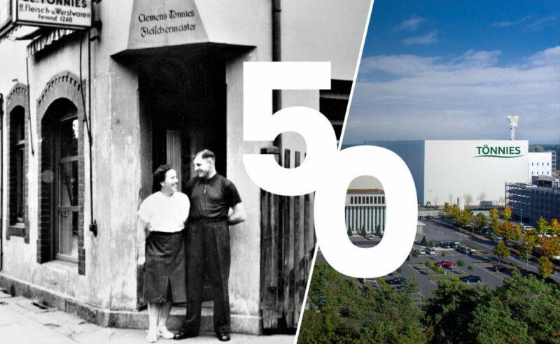 50-jähriges Firmenjubiläum bei Tönnies