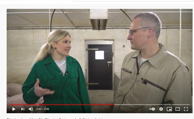 Neues Agrarblog-Video: Franzi besucht den Tönnies-Partnerbetrieb von Jochen